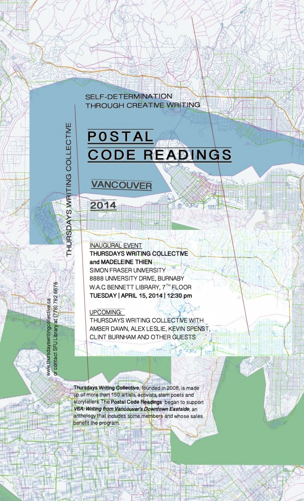 Launch of Postal Code Readings 2014!